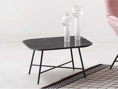 Tavolino quadrato in metallo ASIA | Tavolino
