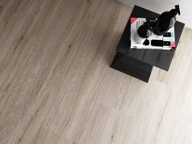 Wand- und Bodenbelag mit Holz-Effekt für Innen/Außen ASPEN