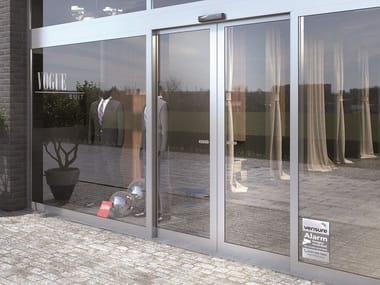 Automatic entry door ASSA ABLOY SL500 FRAME