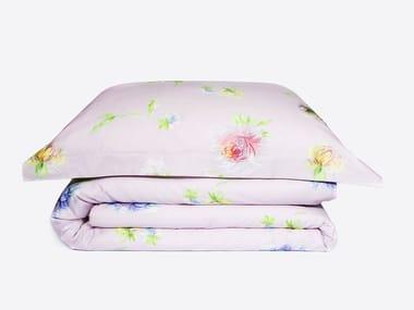 Coordinato letto in cotone con motivi floreali ASTER | Coordinato letto
