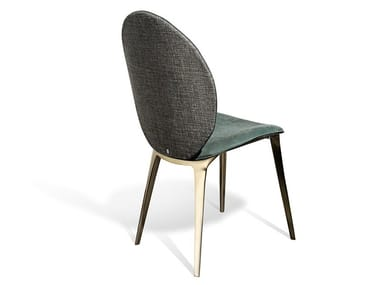 Upholstered fabric chair ASTRID