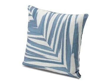 Cushion in flamed printed fabric ATACAMA PW