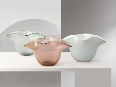 Vaso in vetro soffiato ATENA