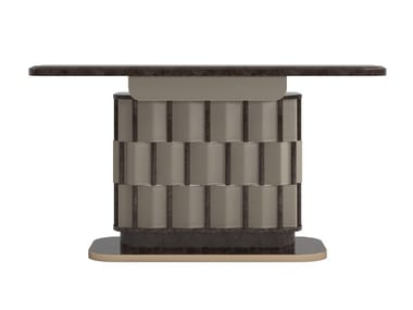 Rectangular briar console table ATHENA | Console table