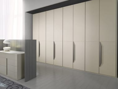 Sectional leather wardrobe ATLANTE FLORES