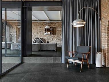Porcelain stoneware wall/floor tiles with stone effect ATMOSPHÈRES DE REX