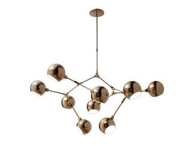 Lampada da soffitto in ottone ATTANASIO | Lampada da soffitto