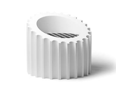 Polyurethane easy chair ATTICA