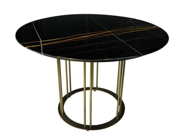 Round dining table AUREOLA D110 | Dining table