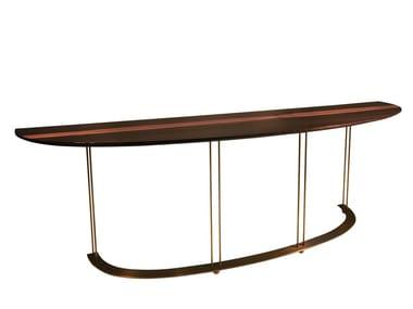 Demilune ebony console table AUREOLA C3 | Console table