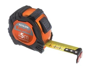 Flessometro con cassa in ABS AUTOLOCK
