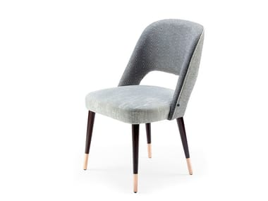 Upholstered fabric chair AVA | Fabric chair