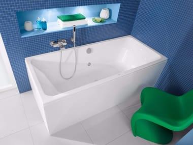 Vasca Da Bagno Materiali : Vasche da bagno rettangolari in materiali ceramici archiproducts