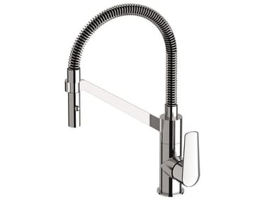 Countertop kitchen mixer tap with pull out spray AVENUE | Kitchen mixer tap with pull out spray