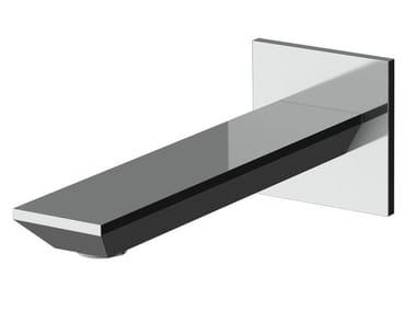 Wall-mounted spout with plate AVENUE | Spout