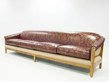 4 seater leather sofa AVIS ESSENCE | Sofa