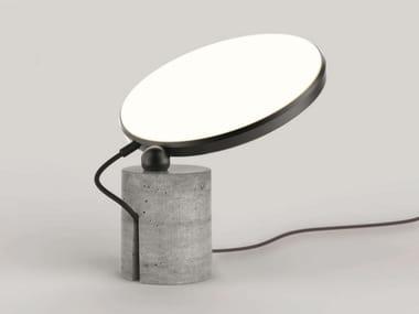 Cement table lamp / floor lamp AVVENI CONCRETE