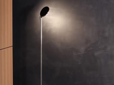LED aluminium floor lamp with dimmer AVVENI FLOOR