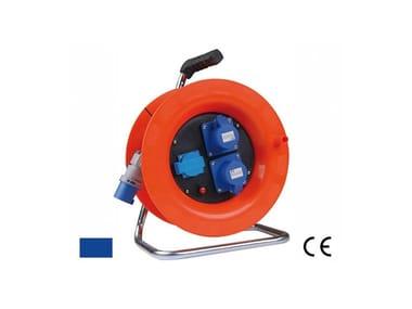 Avvolgicavo industriale AVVOLGICAVO 2 IP44 + 1 SCHUKO 400 V