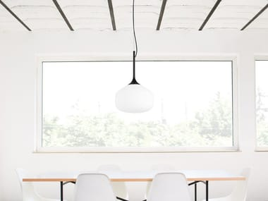 Direct light metal pendant lamp AWA | Pendant lamp