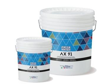 Adesivo bicomponente poliuretanico AX 91