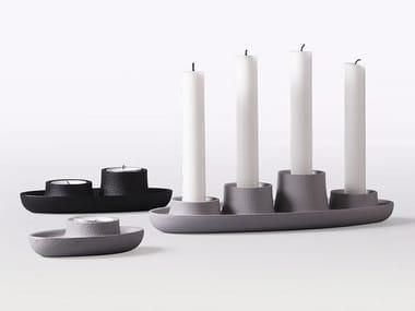 Cast iron candle holder AYE AYE