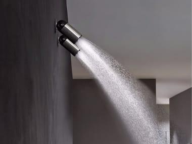Soffione doccia orientabile in acciaio inox AZIMUT