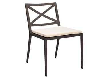 Sedia in alluminio verniciato a polvere AZIMUTH CROSS   Sedia