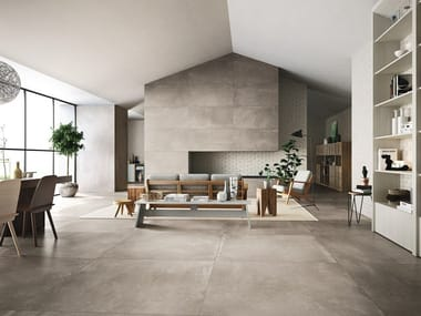 Indoor/outdoor full-body porcelain stoneware wall/floor tiles AZUMA