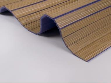 Pannelli acustici in legno e feltro Acustico - Feltro di lana flessibile