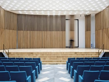 Acoustic sliding vertical movable wall Acoustic movable wall