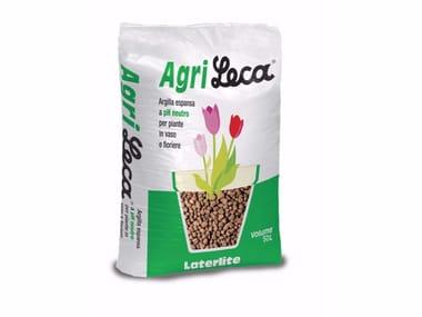 Argilla espansa a ph specifico per giardini pensili AGRILECA
