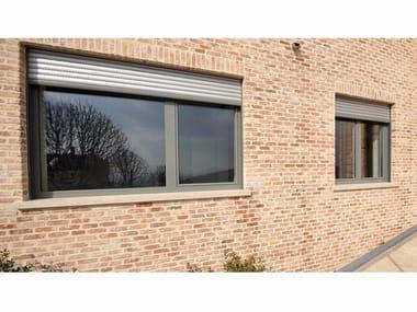 Aluminium and wood window Aluminium and wood window