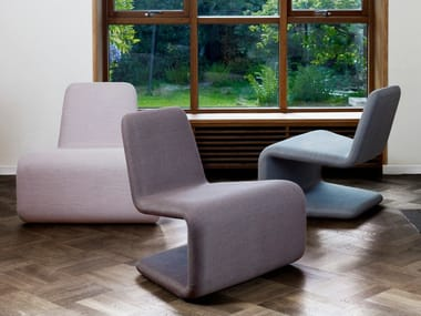 Cantilever armchair URBAN LOUNGE