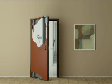 Exterior PVC safety door Armored doors