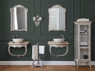 Bathroom furniture set Wooden bathroom furniture set