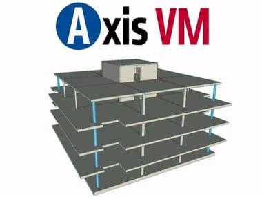 Finite element (FEM) structural resolver Axis VM
