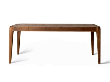Rectangular walnut table B-152 | Table