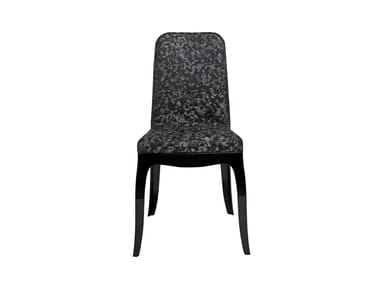Cadeira de policarbonato B.B. CHAIR TRIANGULAR BLACK