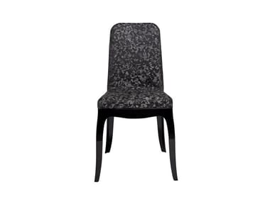 Polycarbonate chair B.B. CHAIR TRIANGULAR BLACK