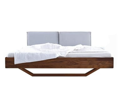 Wooden double bed B15