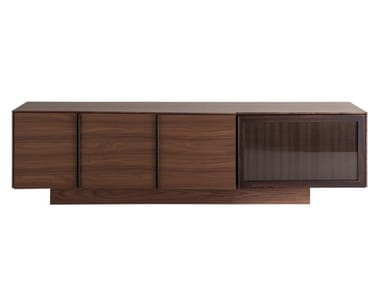 MDF sideboard with doors and drawers B220