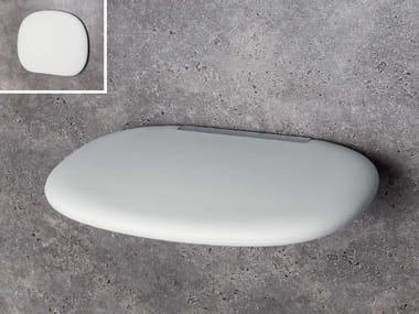 Sedile doccia in poliuretano B9637 | Sedile doccia ribaltabile