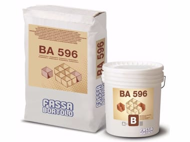 Malta bicomponente fibrorinforzata a ritiro controllato BA 596