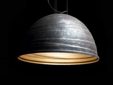 Aluminium pendant lamp BABELE