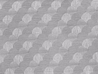 Reversible fabric with graphic pattern BABOO