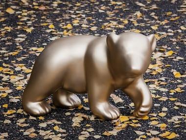 Glass-fibre sculpture BABY BEAR