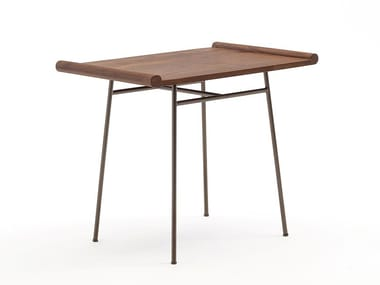 Rectangular ash side table BABY TABLE
