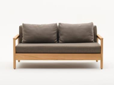 2 seater teak garden sofa BALI | 2 seater garden sofa