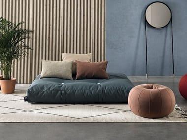 Rectangular fabric pouf BALI | Pouf
